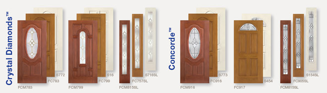 Entry Doors Collections & Glass Styles