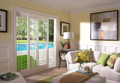Enjoy Authentic U201cFrench Dooru201d Charm But With The Floor Space Saving  Convenience Of A Sliding Patio Door. The 5u2033 Top Rail, 7u2033 Bottom Rail And 3u2033  Side Rails ...