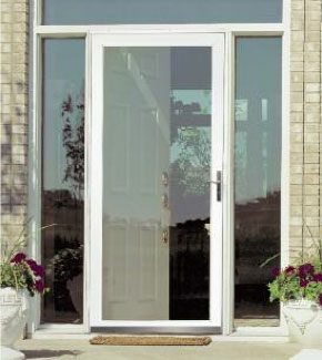 Security Glass Storm Doors