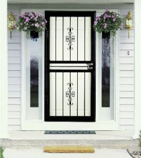 Storm doors rockford il window world of rockford for Window and door replacement company