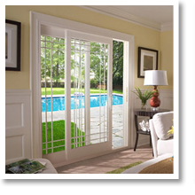 French Rail Sliding Patio Doors