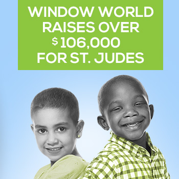 Window World Participates in St Jude Give Thanks. Walk in 28 Locations Nationwide
