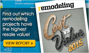 2015 Cost vs. Value Report by Remodeling Magazine