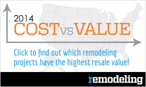2014 Cost vs. Value by Remodeling Magazine