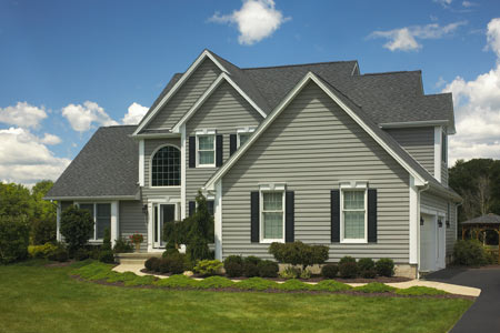 Cypress colored vinyl siding house pictures