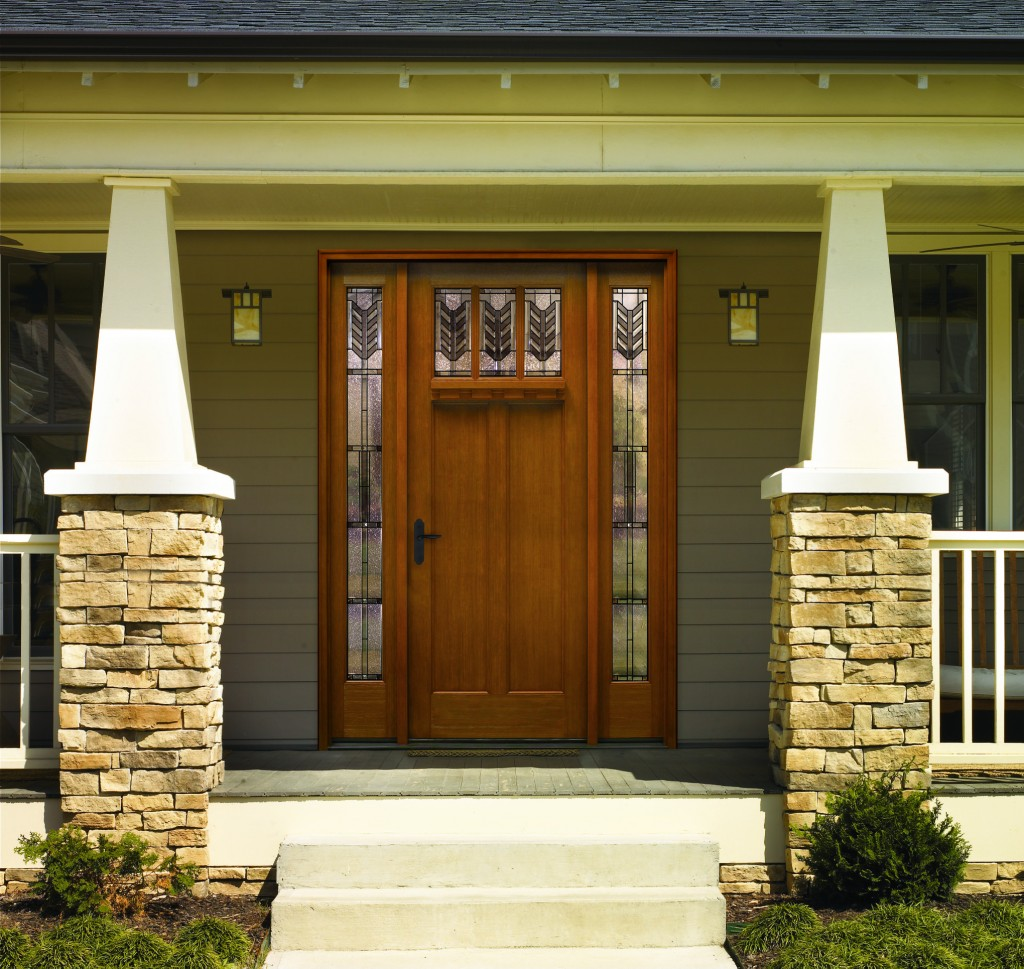Home entry door