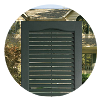 Louvered Shutters Huntsville