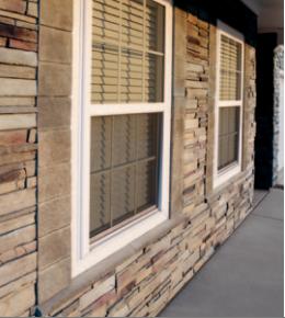 Versetta Stone® Wainscot Cap as Window Sill