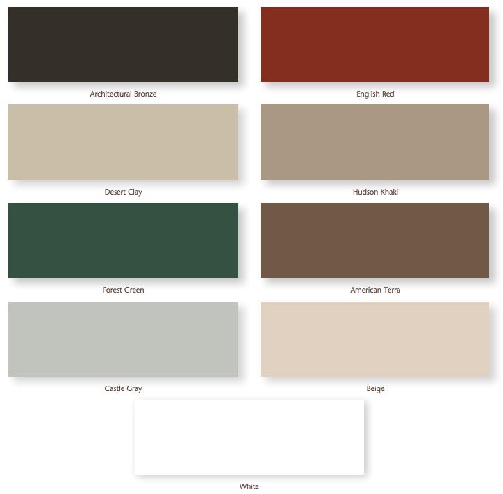 exterior frameworks palette