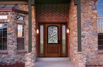 Classic-Craft Door with Augustine Glass